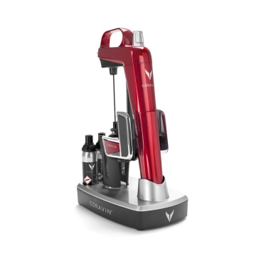 CORAVIN™ Model 2 Elite Plus Pack, Cherry Red  (112065)