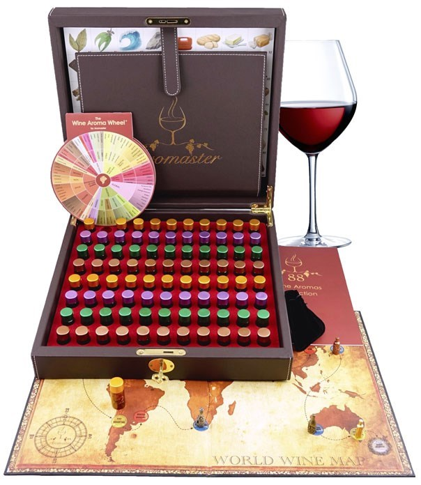 Master Wine Aroma Kit - 88 different aromas